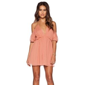 The Jetset Diaries Mini Off the shoulder dress!